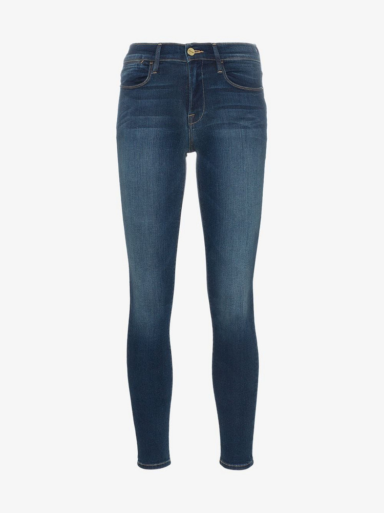 Frame Denim FRAME Le high skinny jeans in blue