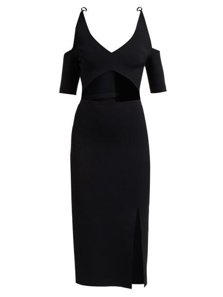 Altuzarra - Giovanna Cut Out Dress - Womens - Black