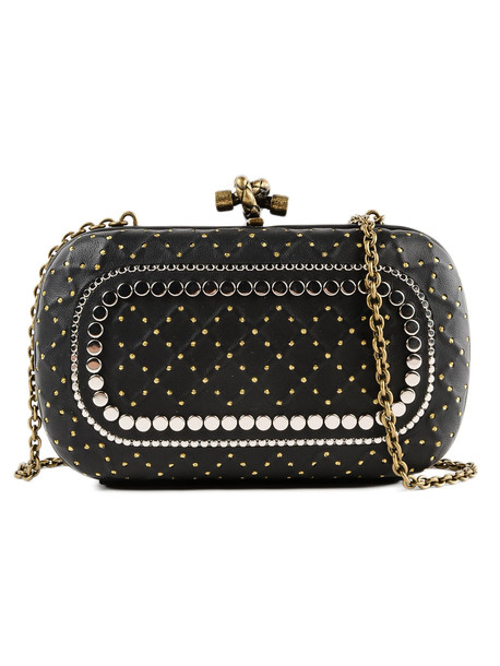 Bottega Veneta Chain Knot Bag in black