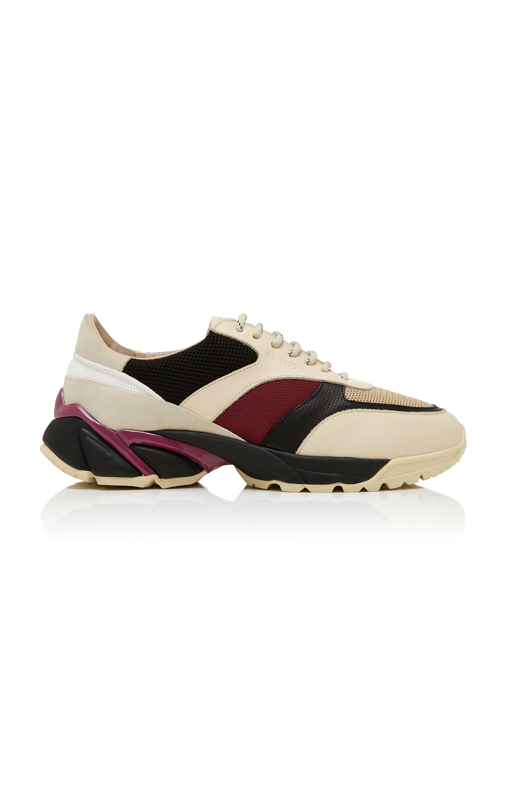 Axel Arigato Tech Runner Leather and Suede Sneakers in multi