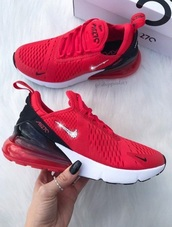 shoes,red,nike,sneakers,jewels