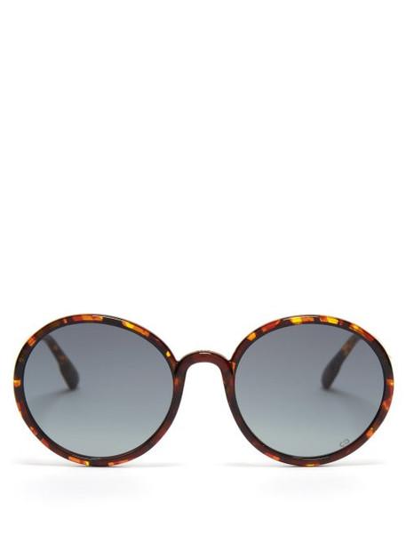 Dior Eyewear - Diorsostellaire2 Tortoiseshell Acetate Sunglasses - Womens - Tortoiseshell