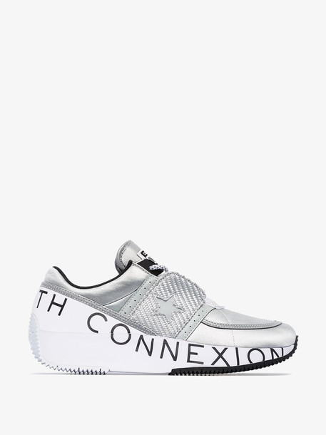 Converse X Faith Connexion silver One Star Ox low top sneakers