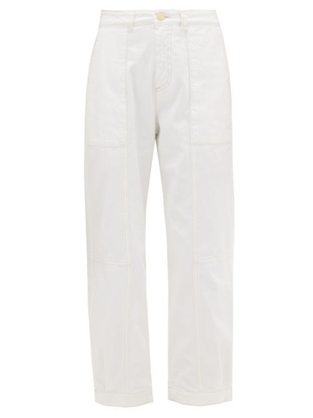 See By Chloé See By Chloé - Stretch Twill Trousers - Womens - White