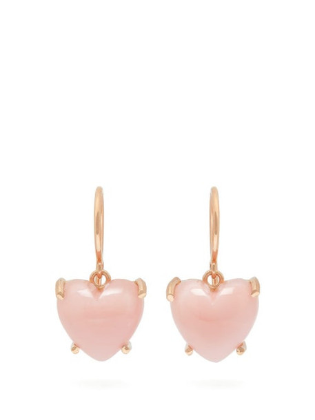 Irene Neuwirth - Love Pink Opal & 18kt Rose Gold Earrings - Womens - Pink