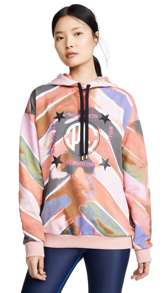P.E NATION Co Driver Hoodie in multi