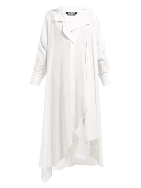 Jacquemus - Rosaria Voluminous Maxi Shirtdress - Womens - White