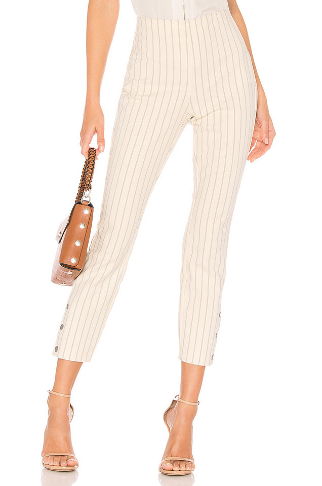 Rag & Bone Simone Snap Pant in white