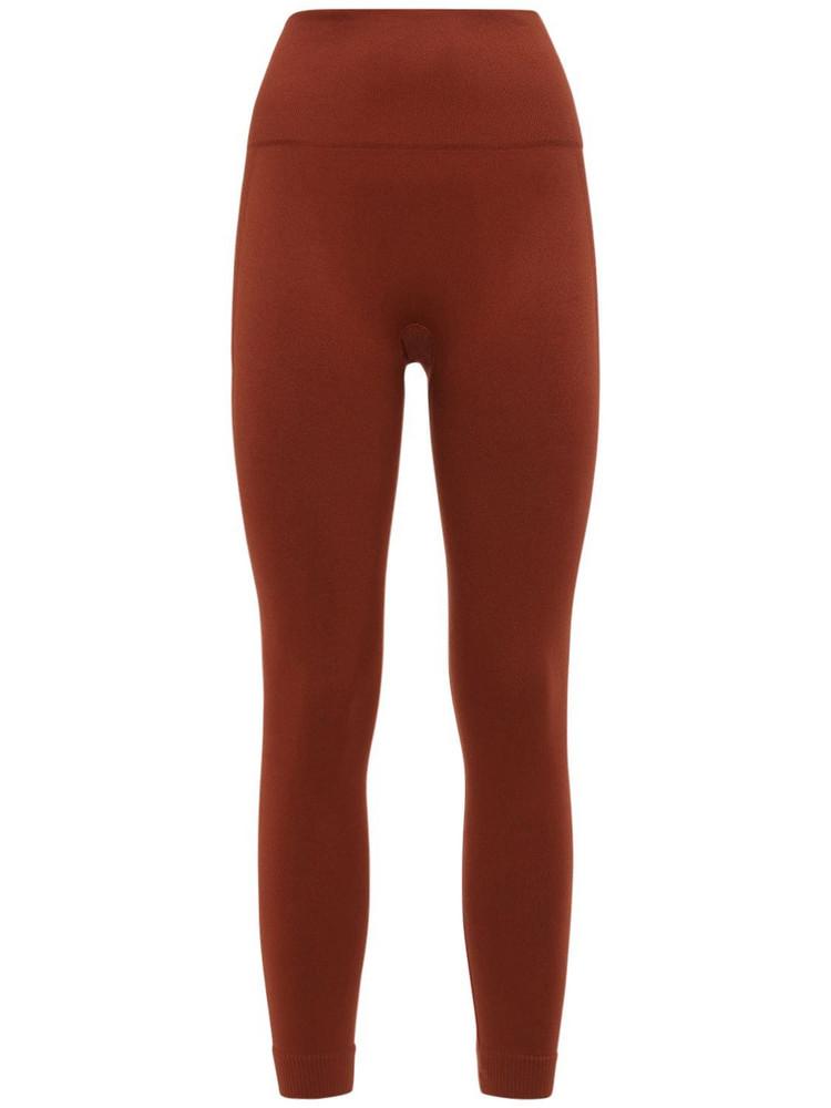 WEWOREWHAT Seamless Leggings in brown