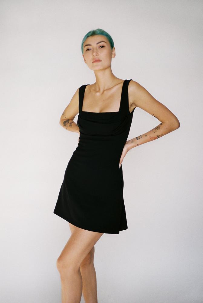 Miaou GINGER DRESS - BLACK