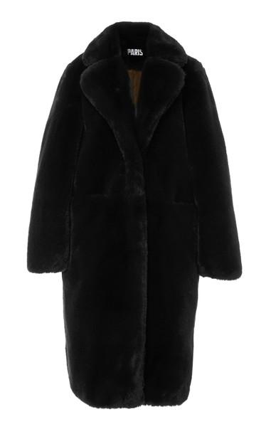 Apparis Laure Faux-Fur Coat Size: XS