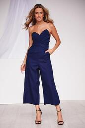 jumpsuit,strapless,dressy,casual