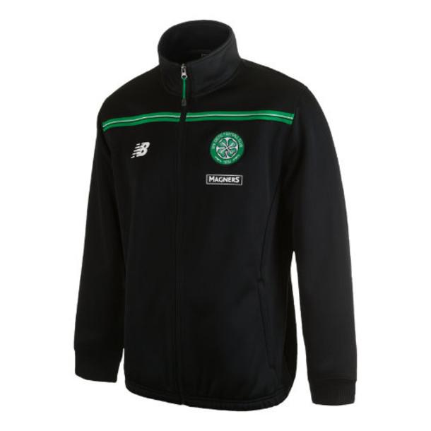 New Balance 537 Men's Celtic Mens Walk Out Jacket - Black (WSJM537BK)