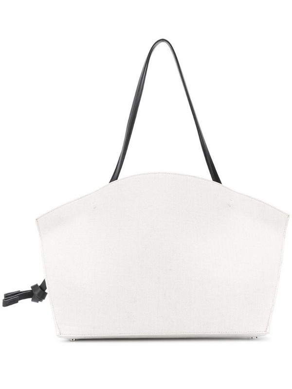 Aesther Ekme The Beach Cabas knot detail tote bag in white