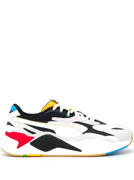 Puma RS-X panelled low-top sneakers in white