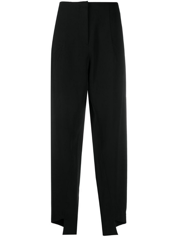 Maison Martin Margiela Pre-Owned 2000s drooped crotch trousers in black
