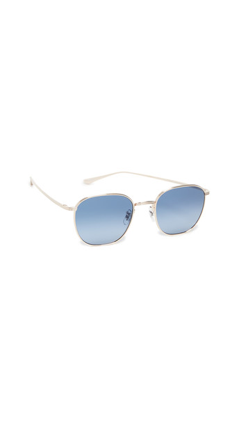 Oliver Peoples The Row Board Meeting 2 Sunglasses in gold