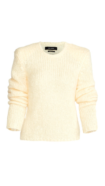 Isabel Marant Erin Mohair Pullover in yellow
