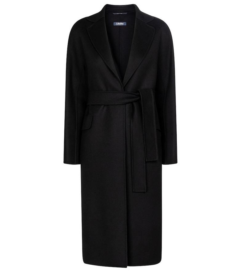 S Max Mara Renata wool coat in black