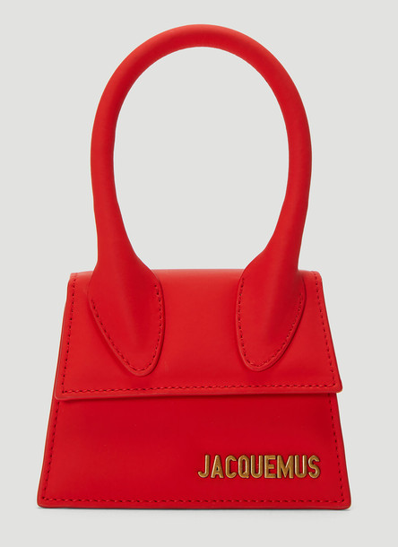 Jacquemus Le Chiquito Mini Handbag in Red size One Size