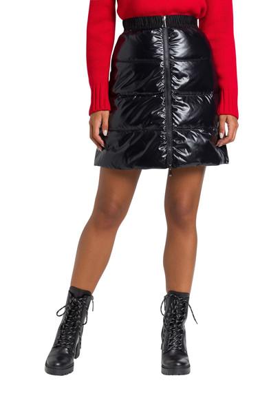 Moncler Padded Short Skirt in nero