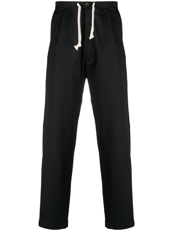 Société Anonyme Sing straight leg trousers in black