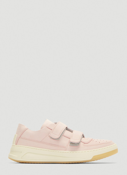 Acne Studios Steffey Touch Fastening Sneakers in Pink size EU - 36