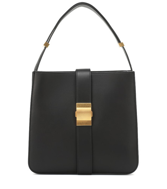 Bottega Veneta Marie leather shoulder bag in black