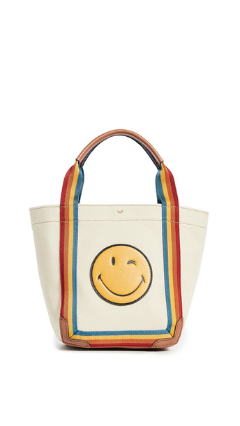 Anya Hindmarch Wink Mont Tote Bag in stone