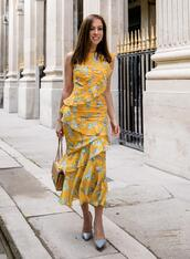 sydne summer's fashion reviews & style tips,blogger,dress,shoes,yellow dress
