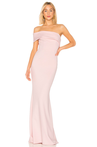 Katie May Titan Gown in blush