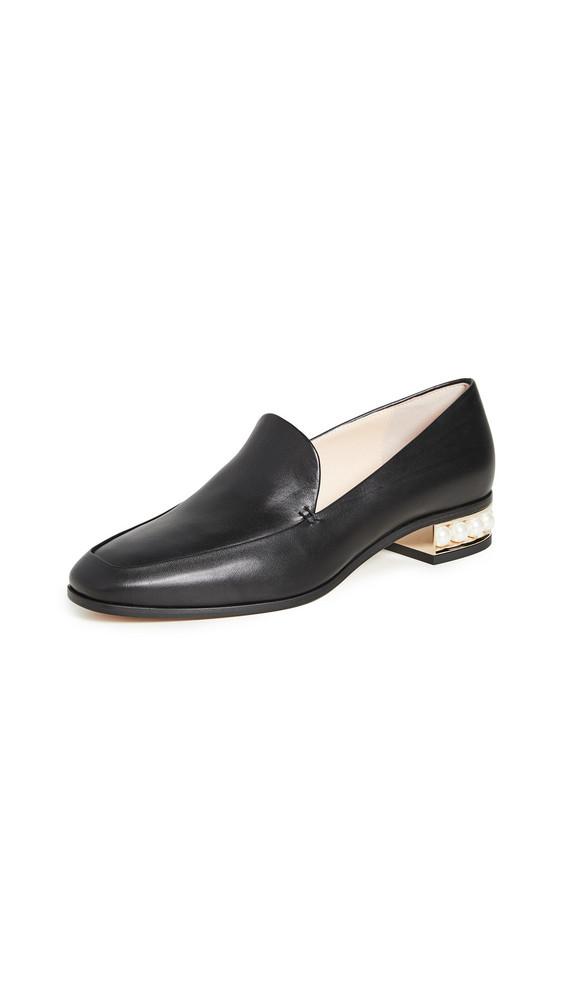 Nicholas Kirkwood Casati Moccasin Loafers in black
