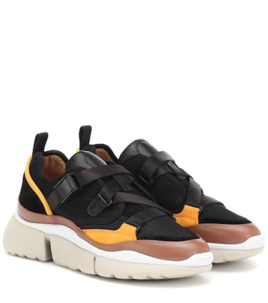 Chloé Sonnie sneakers in black