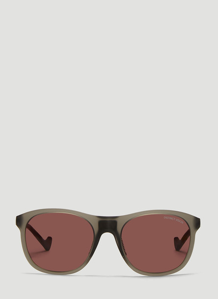 District Vision Nako Tinted Sunglasses in Grey size One Size