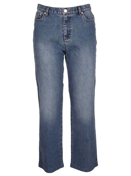 A.P.C. A.p.c. Cropped Straight-leg Jeans