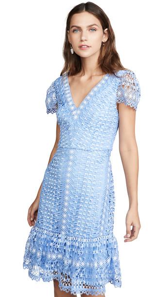 Temperley London Bamboo Lace Mini Dress