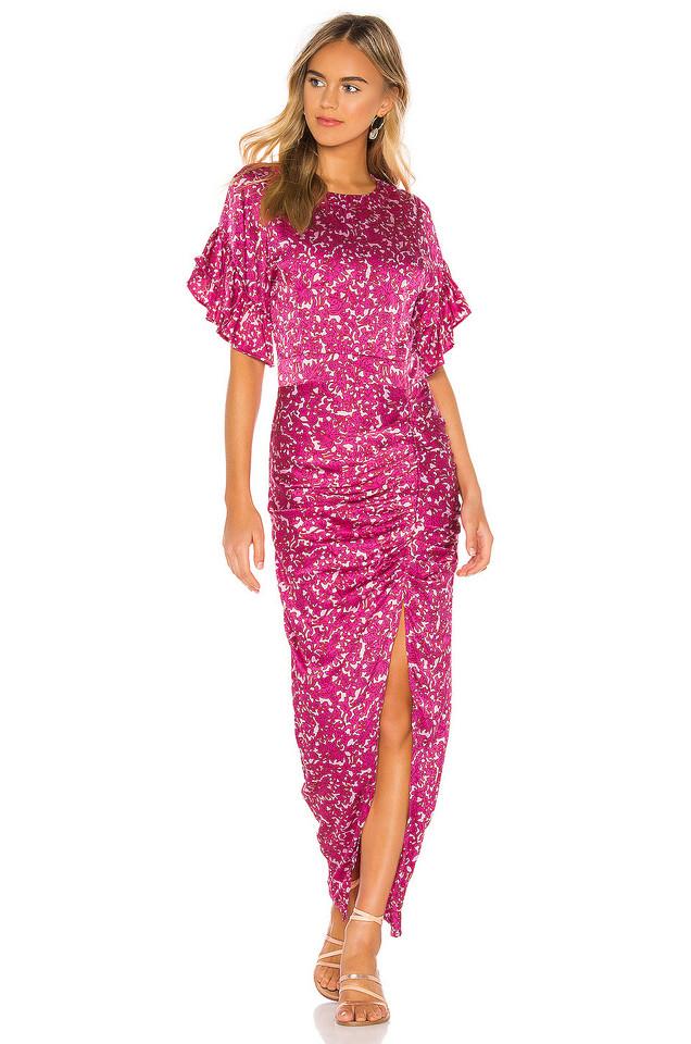 Acacia Swimwear Luau Dress in pink
