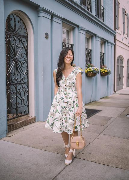 skirttherules blogger dress bag shoes