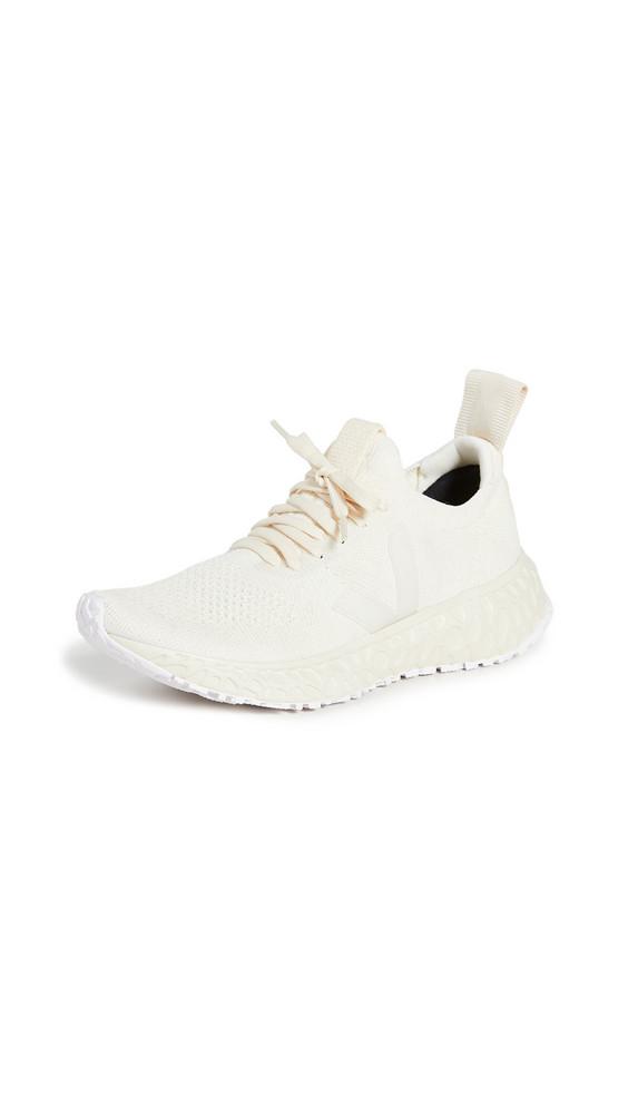Veja x Rick Owens Runner Style Sneakers in beige
