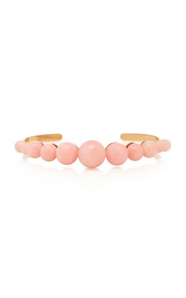 Irene Neuwirth 18K Rose Gold And Pink Opal Cuff