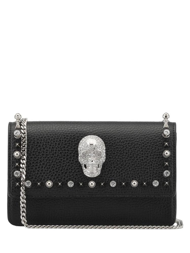 Philipp Plein Purse Leather in black
