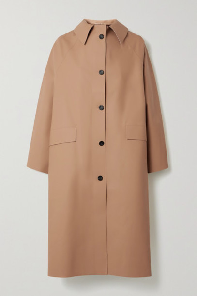 Kassl Editions - Faux Leather Coat - Light brown