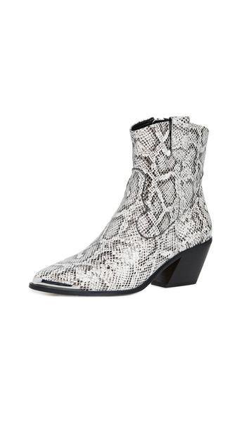 Villa Rouge Yadira Boots in black / white