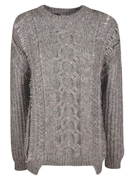 Stella McCartney Cable Knit Jumper in grey