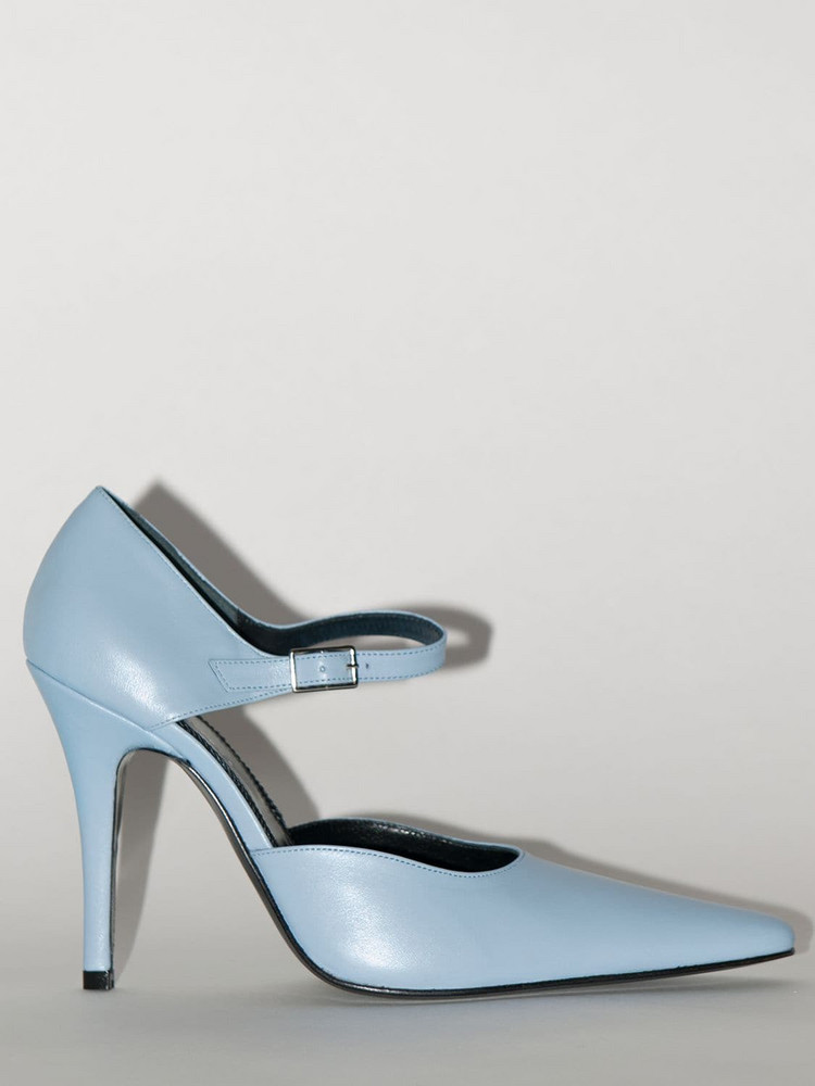 DORATEYMUR 90mm Groupie Mary Jane Pumps in blue