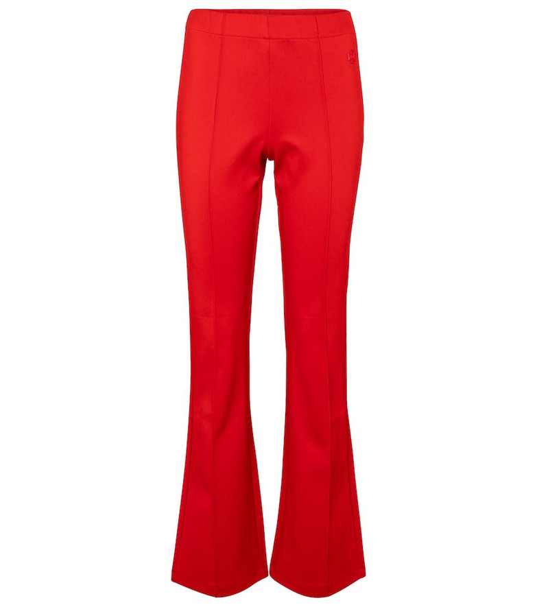 Tory Sport Flared sweatpants in red