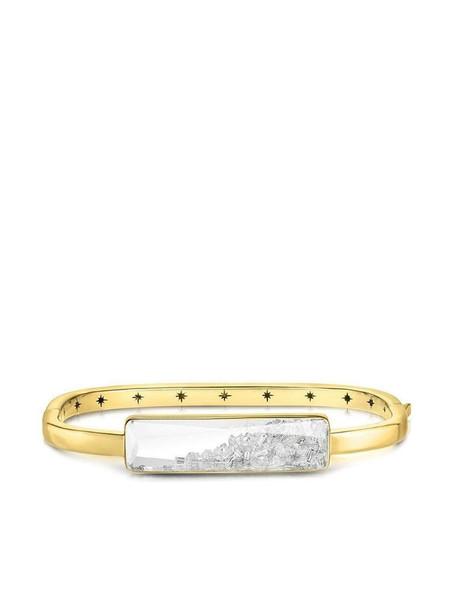 Moritz Glik 18kt yellow gold diamond shaker bracelet