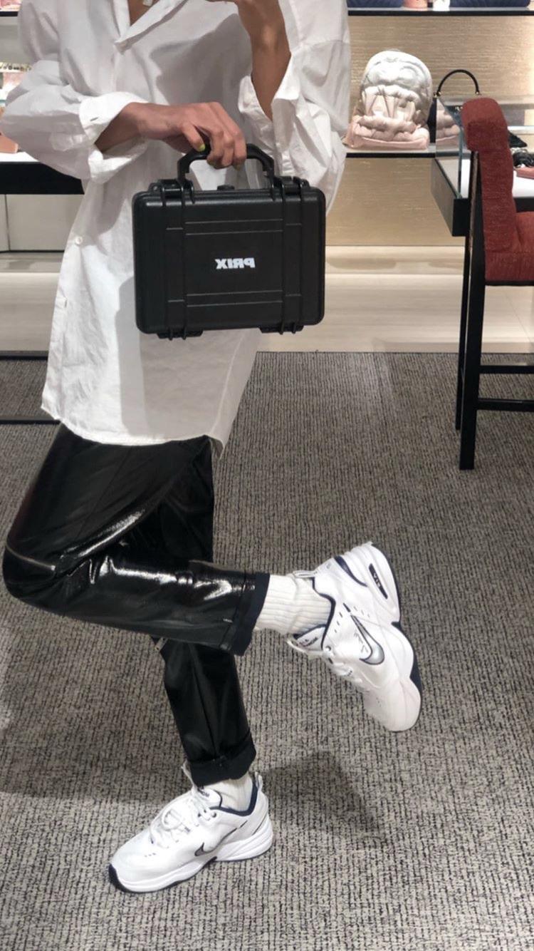 bag prixworkshop black white clutch clubwear streetwear