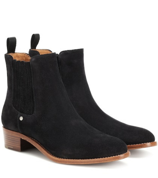 Church's Bonnie suede ankle boots in black