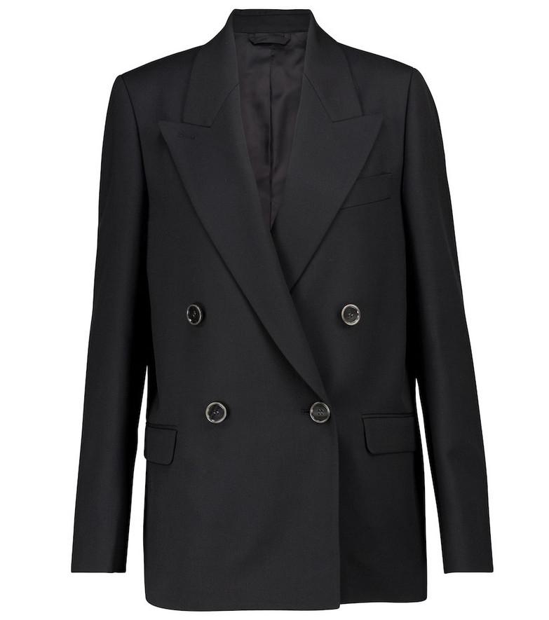 Acne Studios Double-breasted blazer in black